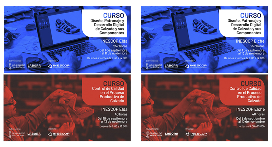 Inescop Formara A Desempleados Interesados En Diseno Y Control De Calidad De Calzado Inescop Centro De Innovacion Y Tecnologia
